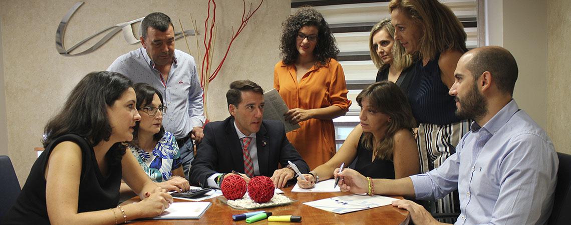 Equipo humano de Casero Asesores Jaén